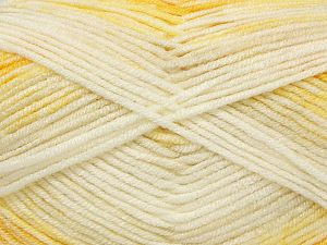 Vezelgehalte 100% Premium acryl, Yellow Shades, Brand Ice Yarns, fnt2-71465