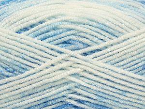 Vezelgehalte 100% Premium acryl, Light Lilac, Brand Ice Yarns, Blue Shades, fnt2-71468