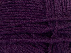 Fiber Content 100% Acrylic, Brand Ice Yarns, Dark Purple, fnt2-71531