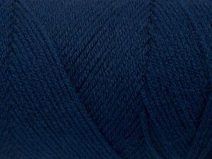 Fiber Content 100% Acrylic, Brand Ice Yarns, Dark Navy, fnt2-71678