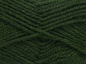 Fiber Content 100% Acrylic, Brand Ice Yarns, Dark Green, fnt2-71695