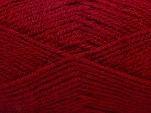 Fiber Content 100% Acrylic, Brand Ice Yarns, Burgundy, fnt2-71701