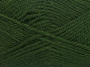 Fiber Content 100% Acrylic, Brand Ice Yarns, Dark Green, fnt2-71702