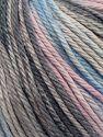 Fiber Content 100% Cotton, Light Pink, Light Blue, Brand Ice Yarns, Grey Shades, fnt2-70933