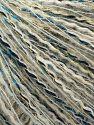 Contenido de fibra 5% Lana Merino, 5% Metálicos Lurex, 40% Poliamida, 20% Bebé Alpaca, 20% Viscosa, 10% Acrílico, White, Turquoise, Navy, Light Grey, Brand Ice Yarns, Gold, fnt2-71271