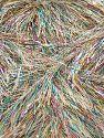 Contenido de fibra 75% Poliéster, 25% Metálicos Lurex, Light Grey, Brand Ice Yarns, fnt2-71344
