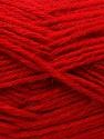 Fiber Content 70% Dralon, 30% Alpaca, Red, Brand Ice Yarns, Yarn Thickness 4 Medium Worsted, Afghan, Aran, fnt2-25377