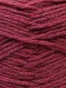 Fiber Content 70% Dralon, 30% Alpaca, Brand Ice Yarns, Burgundy, Yarn Thickness 4 Medium Worsted, Afghan, Aran, fnt2-25668